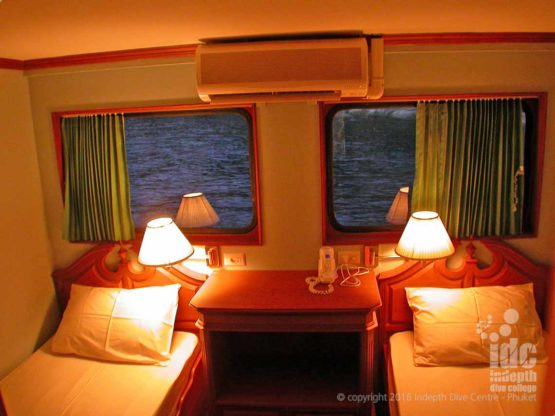 Standard Cabin on Similans Liveaboard SSD3