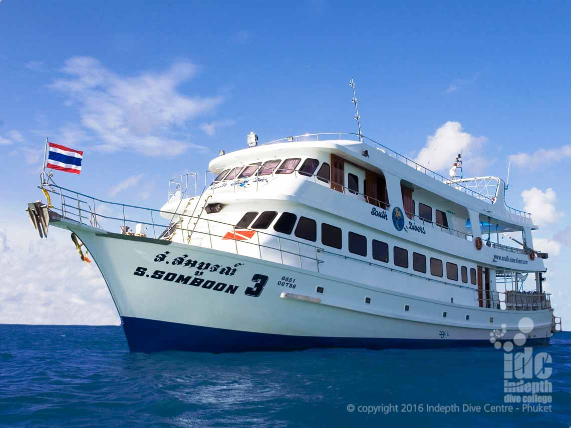 Indepth & South Siam Divers Similans Liveaboards offer you competitively priced trip to The Similans. And Richelieu Rock, Ko Tachai and Koh Bon