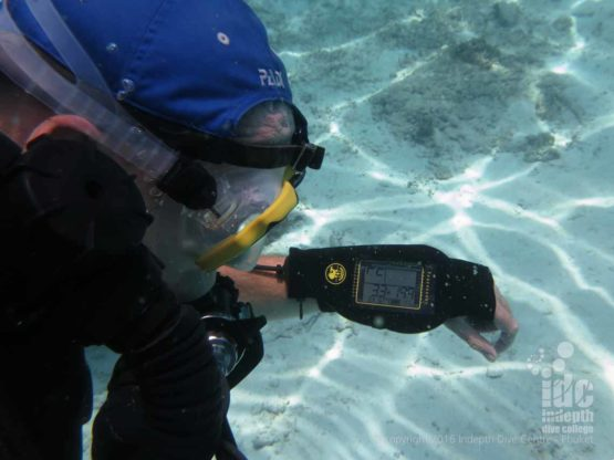 Poseidon Se7en Rebreather at Phuket Dive Site Bannana Rock