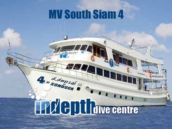 South Siam 4 is ready for your Richelieu Rock Liveaboard