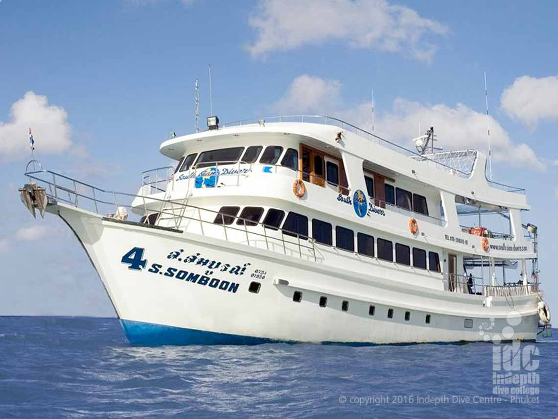 Indepth and South Siam 4 (SSD4) offer very competitively priced Richelieu Rock Liveaboard trips