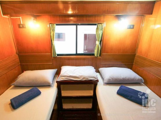 Budget Liveaboards Thailand Twin Cabin on a Similans Trip