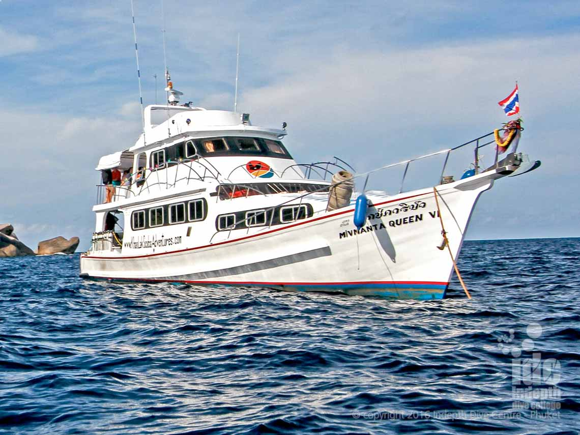 Indepth Dive Centre Phuket brings you the best Budget Liveaboards Thailand