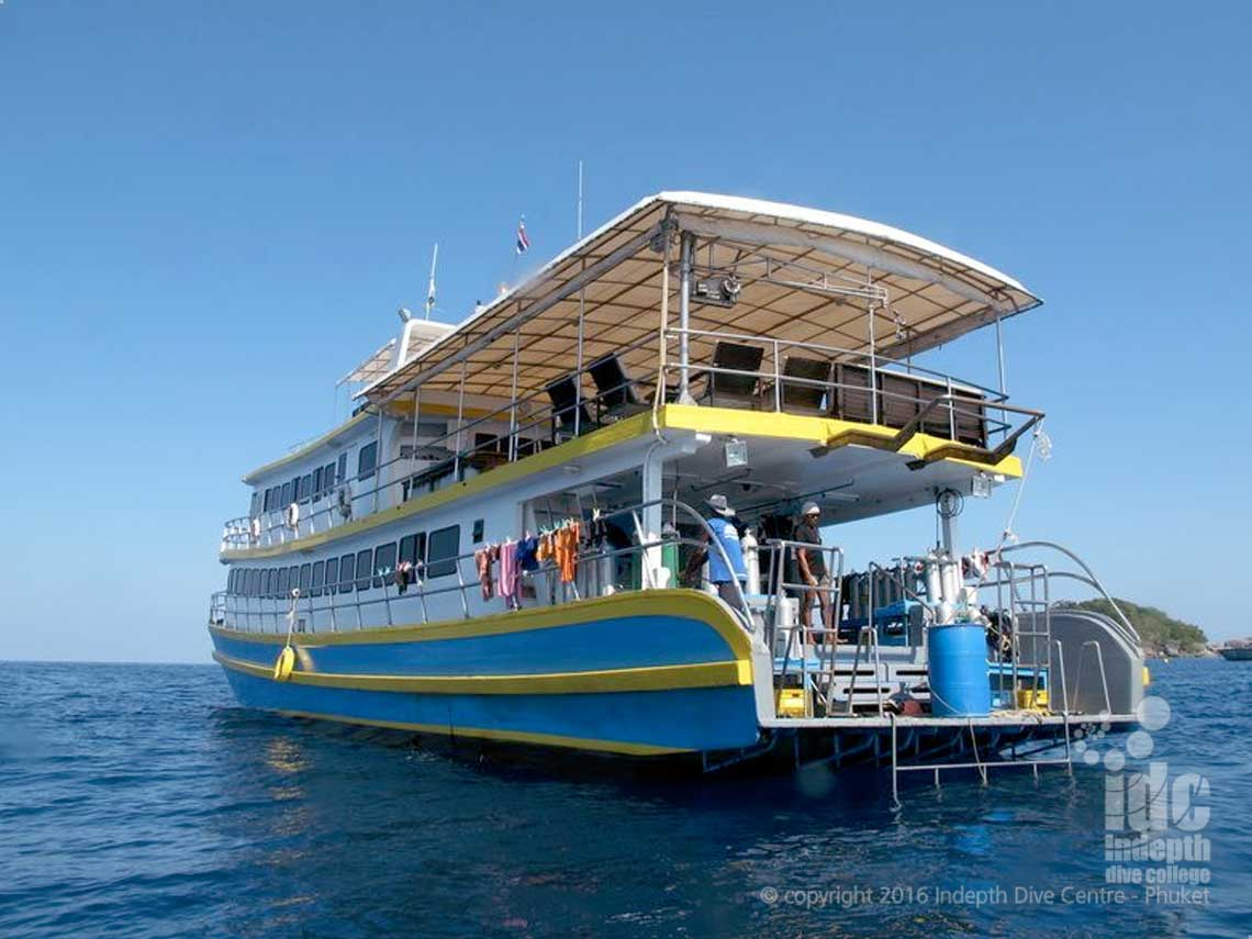 Indepth Similans Liveaboard with MV Oktavia