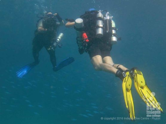 Rebreather Diving in The Similans aboard a Budget Liveaboards Thailand Trip