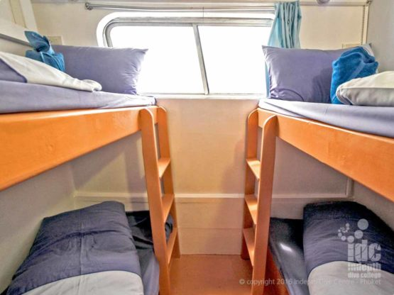 There are a wide selction of Budget Liveaboards Thailand Cabins