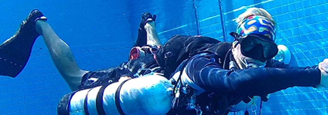 Take your PADI Sidemount Diver Course with Indepth Phuket Thailand