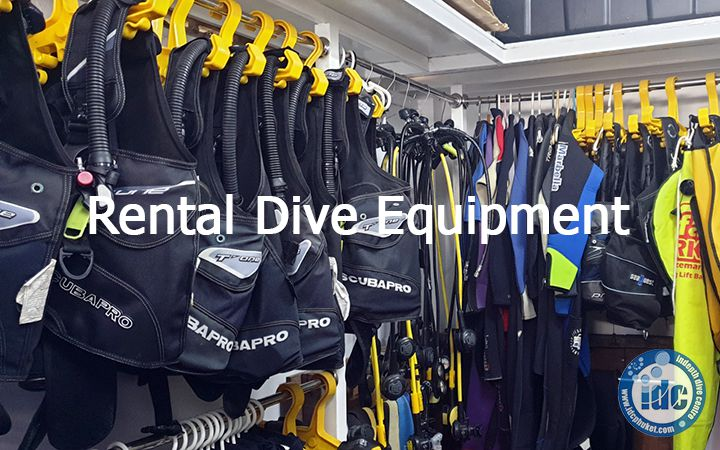 Rental Dive Gear at Indepth Dive Centre