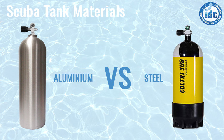 Choosing a Scuba Tank Material - Steel Tanks and Aluminium Tanks