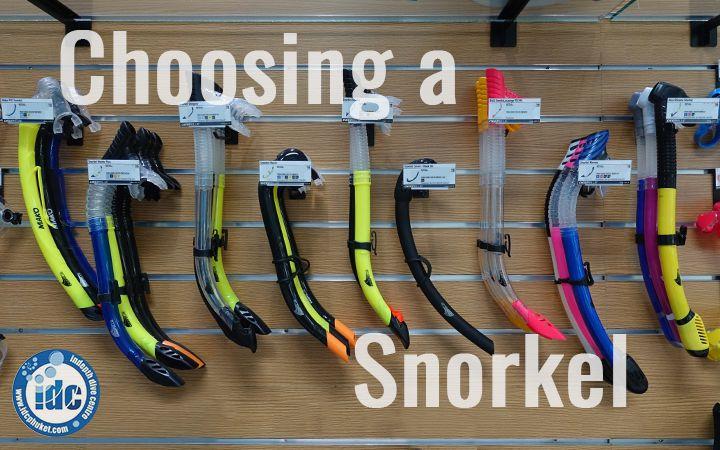 Choosing a snorkel