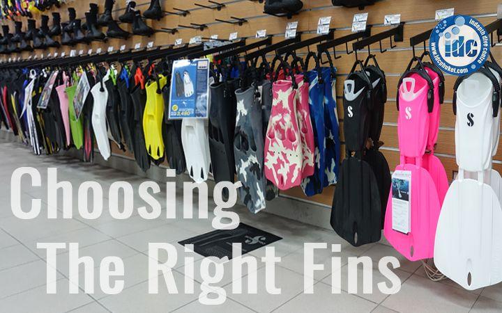Choosing Diving FIns