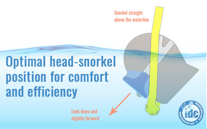 Snorkel optimal position