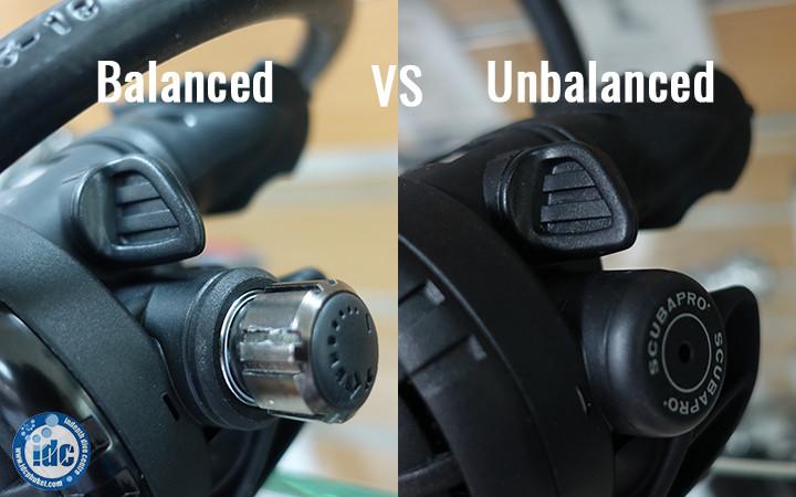 How to choose a scuba regulator - balanced and unbalanced