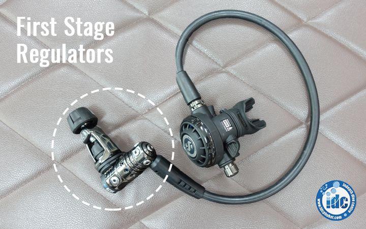 First stage Scuba Regulator