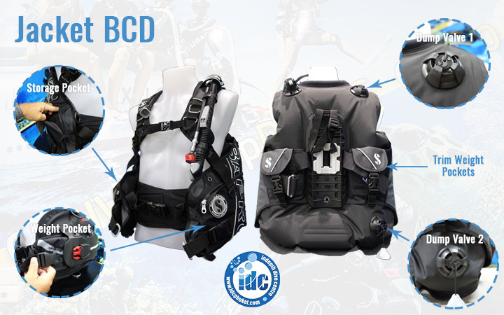 Buoyancy Control Devices - Jacket BCD
