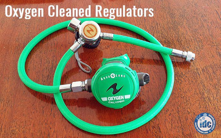 Oxygen Cleaned Scuba Regulator