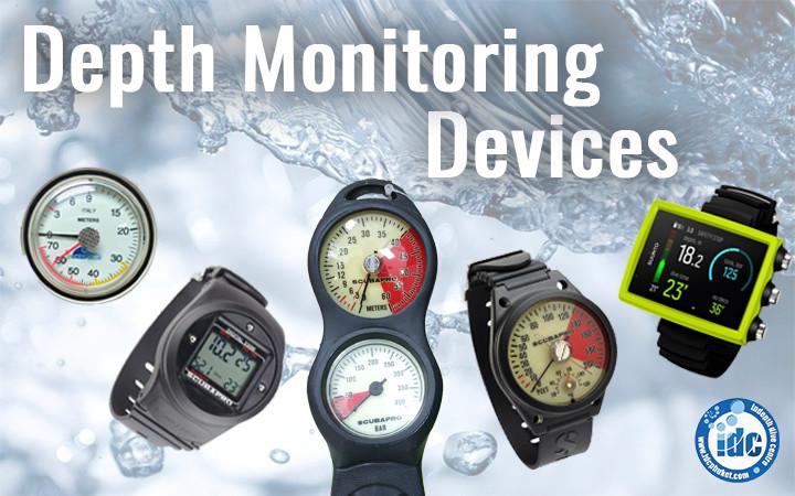 Depth Monitoring Devices - Scuba Depth Gauge