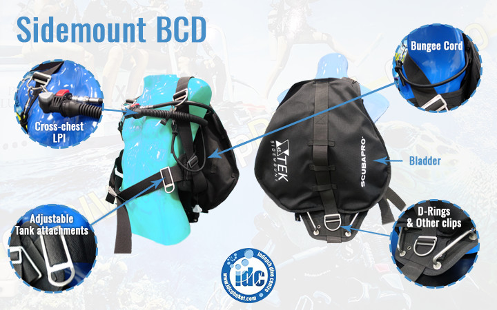 Choosing the Right BCD - Sidemount BCD