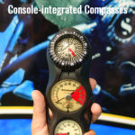 Console Integrateed Diving Compass