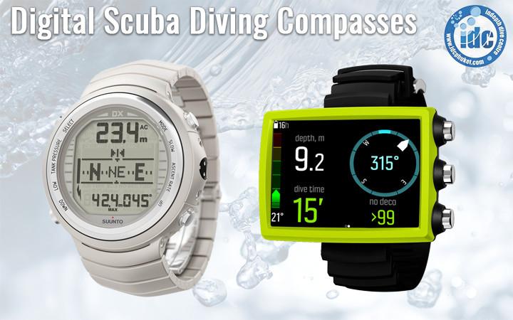 Digital Scuba Compasses