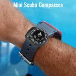 Mini Compass for wrist watch band