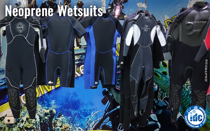 Choosing a wetsuit for scuba diving - Neoprene Wetsuits