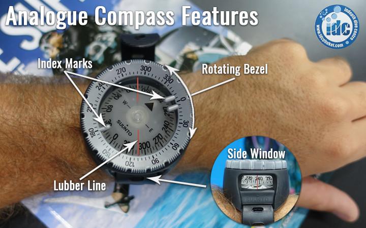 Scuba Compass Features
