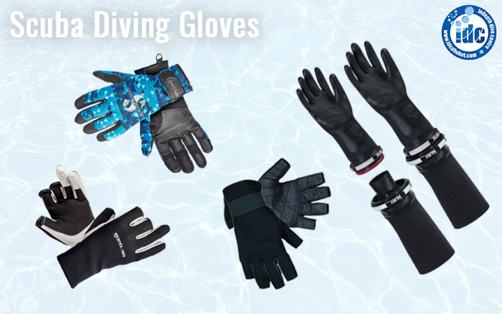 Scuba Diving Gloves - Adequate exposure protection