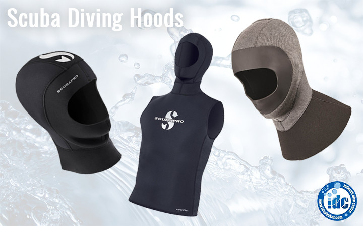 Hoods - adequate exposure protection for scuba diving