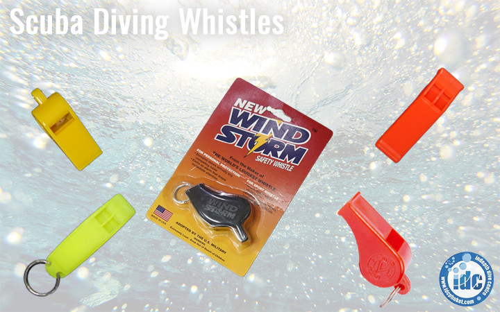 Scuba Signaling Devices - Whistles