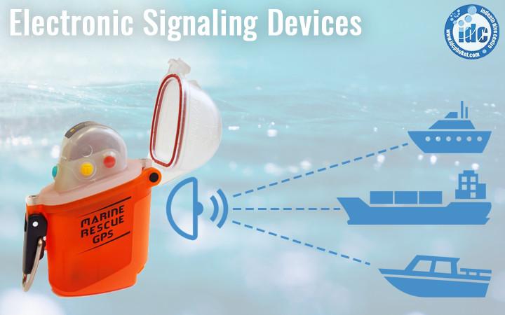 Scuba Emergency GPS eletronic devices