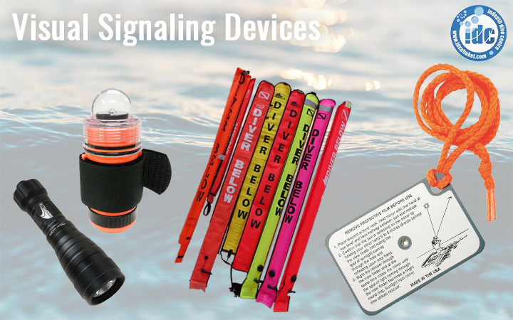 Surface Signaling Devices Scuba Diving