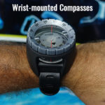 Wrist Mounted Diving Compass